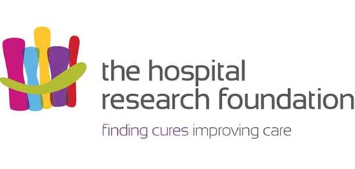 The Hospital Research Foundation logo